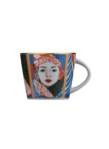 Kütahya Porselen Sophia Femina Çay Takımı Renkli